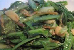 小鱼干油麦菜