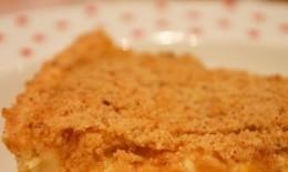 奶油蜜桃派