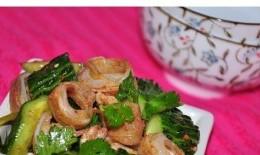 黄瓜拌猪脆骨