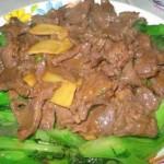 蚝油芥兰炒牛肉