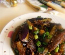 豆豉鲮鱼炒茄子