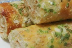 香葱面包卷