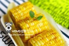 桂花蜂蜜酿甜玉米