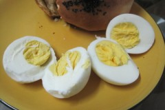 微波版白水煮鸡蛋