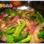 黑椒味尖椒炒洋葱