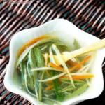 火腿莼菜汤