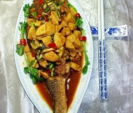豆腐烧黄鱼