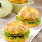 主食:花式汉堡