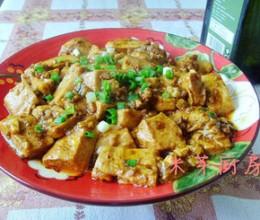 鲜辣肉末豆腐