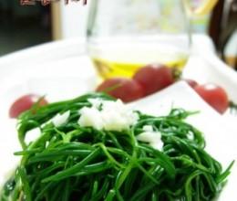 凉拌蓬蓬菜