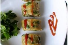 芹菜叶虾皮饼