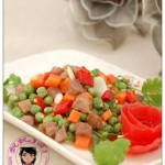 豌豆牛肉粒