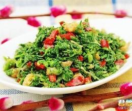 【清明节】海米拌荠菜
