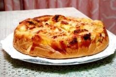 椰蓉砂糖苹果蛋糕