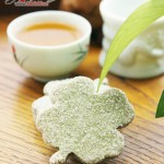 烘焙抹茶粉叶