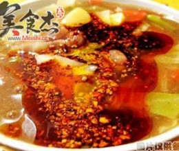 烩北豆腐汤