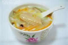 胡萝卜香菇柴鸡粥