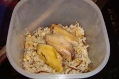 香菇鸡翅饭