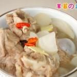 白萝卜煲猪骨汤