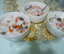 剩米饭变身美味粥