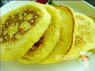 玉米渣松饼