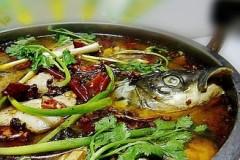 中秋家宴菜酸菜鱼