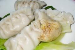 大白菜香菇肉饺