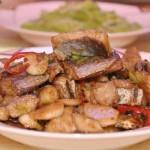 肉片炒鳗鲞