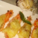 马苏里拉烤虾
