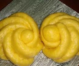 南瓜大花卷
