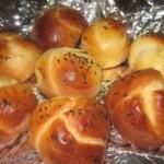 黑芝麻小面包
