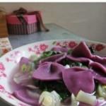 紫薯蝴蝶面