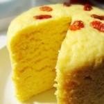 奶香玉米发糕
