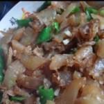 牛蹄筋炒尖椒