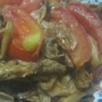 西紅柿炒真姬菇