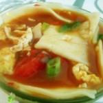 西红柿鸡蛋烩面片