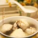 雙丸發菜湯