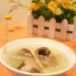 沙参玉竹煲猪心汤