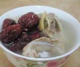 红枣北芪猪骨汤