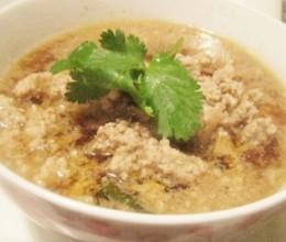 冬菜肉末汤