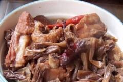 干豆角焖排骨