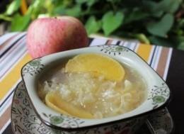 苹果银耳鱼汤