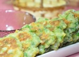 芹菜叶小饼