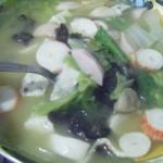火锅丸子青菜汤