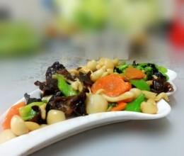 木耳白玉菇