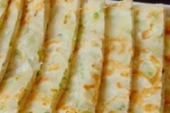 油酥葱花饼