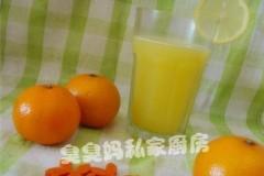 鲜橙柠檬汁
