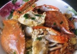 蛋炒梭子蟹
