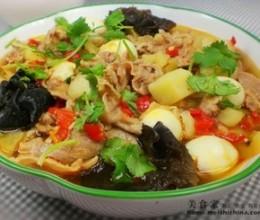 香辣土豆肥羊锅