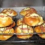 芝士培根面包